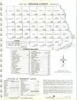 Index Map, Stearns County 1966